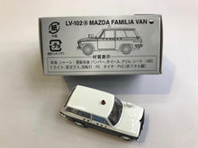 Load image into Gallery viewer, Tomytec Tomica Limited Vintage LV-102a Mazda Familia Police Van