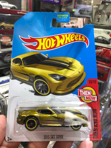 Hot Wheels 2017 2013 SRT VIPER Super Treasure Hunt
