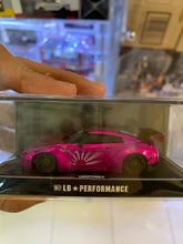 Load image into Gallery viewer, LB Performance 1/64 Nissan GT-R R35 High Tail Metallic Hot Pink