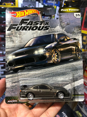 Hot Wheels 2020 FAST & FURIOUS  CAR CULTURE ( HK Card ) - Nissan Silvia  (S15)