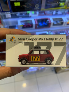Tiny 1/50 Mini Cooper Mk1 Rally #177