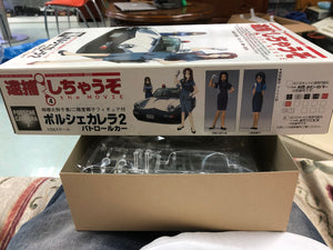 "Fujimi 1:24 Scale Porsche Carrera 2 ""You're Under Arrest"" Movie Model Kit - New AT shop"