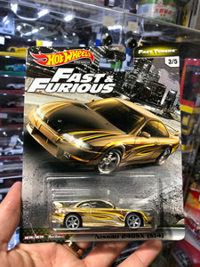 Hot Wheels 2020 FAST & FURIOUS  CAR CULTURE ( HK Card ) - Nissan 240SX (S14)