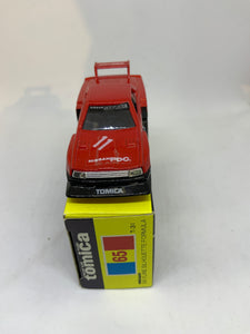 TOMICA TOMY 1/68 #65 SKYLINE SILHOUETTE FORMULA ~ Free Shipping Worldwide !!!
