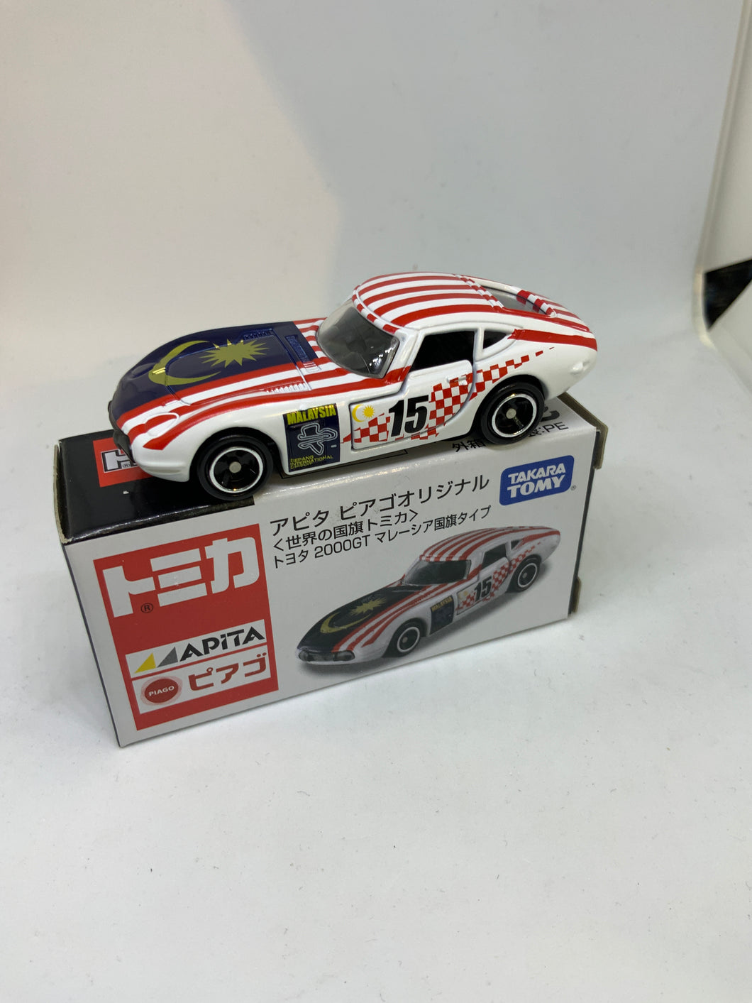 TOMICA TOMY TOYOTA 2000GT