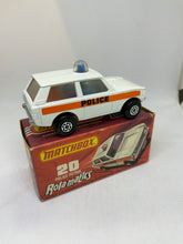 Load image into Gallery viewer, MATCHBOX ROLAMATICS POLICE PATROL