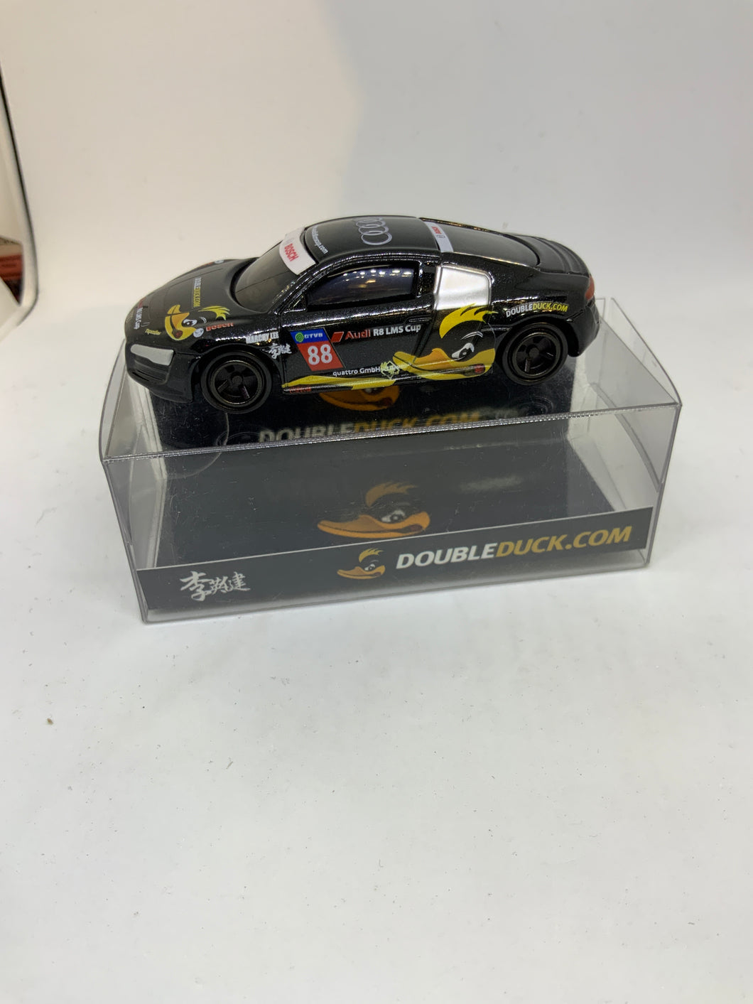 TOMICA TOMY AUDI R8 DOUBLEDUCK.COM