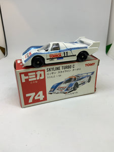 TOMICA TOMY NISSAN SKYLINE GROUP-C
