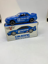 Load image into Gallery viewer, TOMICA TOMY NISSAN SKYLINE GT-R calsonic racing team