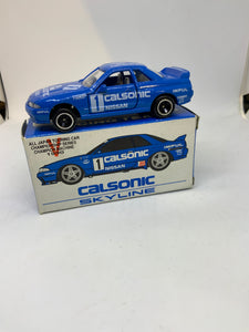 TOMICA TOMY NISSAN SKYLINE GT-R calsonic racing team