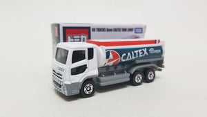 Tomica Caltex Oil Station & Techron UD Truck Quon Tank Lorry Hong Kong Caltex Station Exclusive ( Free Shipping Worldwide !!! )