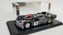 Load image into Gallery viewer, Spark 1/43 KB Porsche 962C #10 Le Mans 1986 KENWOOD. Resin