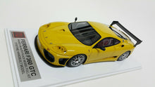 Load image into Gallery viewer, 1/18 APM Ferrari F360 GTC Yellow. Resin