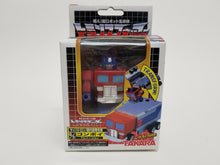 Load image into Gallery viewer, Choro Q Robo Transformers Optimus Prime Takara. Cybertrons transform and attach