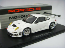 Load image into Gallery viewer, Spark Porsche 911 GT3 RSR White Dealer Edition 1 of 150pcs 1:43