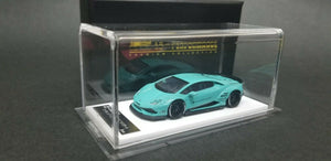 Lamborghini Huracan 610 LB Performance Blue.Dealer Box. Resin