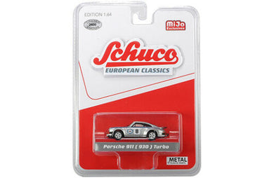 Schuco 1/64 Porsche 911 (930) Turbo Martini Livery Race Car Mijo Exclusive
