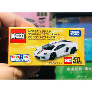 Hong Kong ToysRus Exclusive Tomy Tomica 50th Anniversary Lamborghini Aventador Nazionale Italy