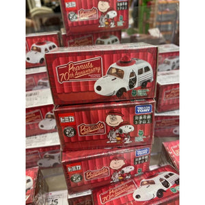 Preorder - Takara Tomy Dream Tomica Snoopy Town Exclusive TEAM PEANUTS - Released Date : Oct 2020