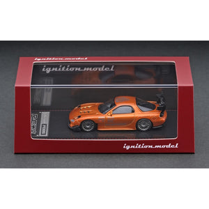 Preorder - ignition Model ig 1/64 Mazda RX-7 (FD3S) RE Amemiya Orange Metallic - Released Date : Dec 2020