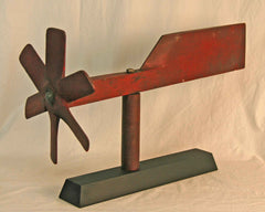 Red Painted Aeronautic Whirlivane