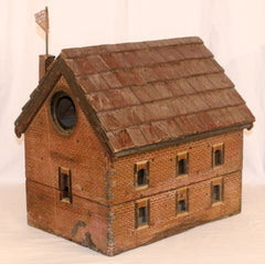 Old Salem Church Bird House- A Replica of the Historic Church near Fredericksburg, VA