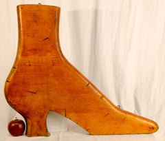 Victorian Style Shoe-Form Trade Sign