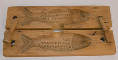 Wooden Fish Mold