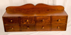 Antique Counter Top Drawer Unit in Pine