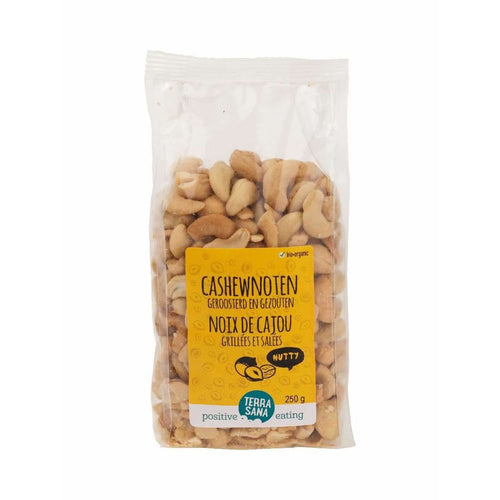 cashew nuts roasted and salted