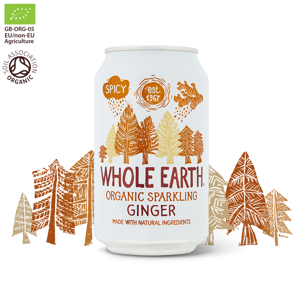 Whole Earth organic sparkling soda