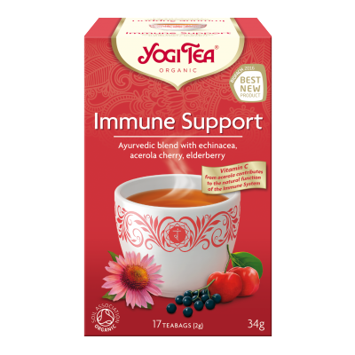 Immune support yogi tea