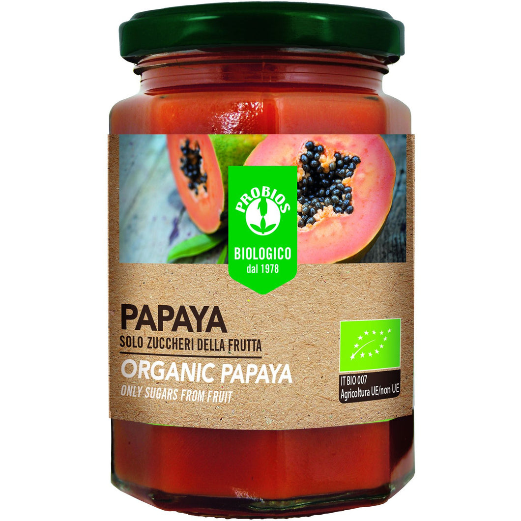 organic papaya fruit spread