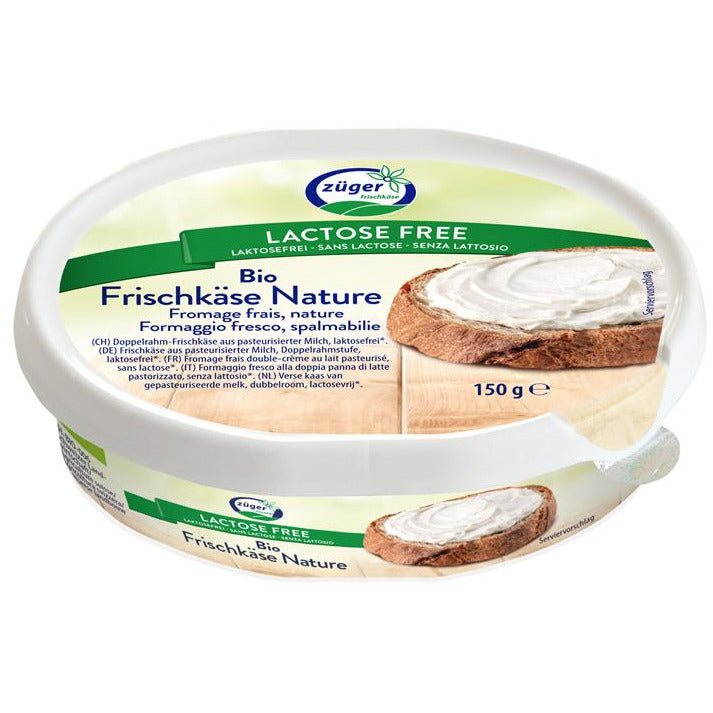 Züger cream cheese lactose free