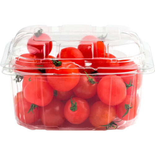 Packaged cherry tomatoes