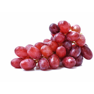 Red Grapes without Seeds