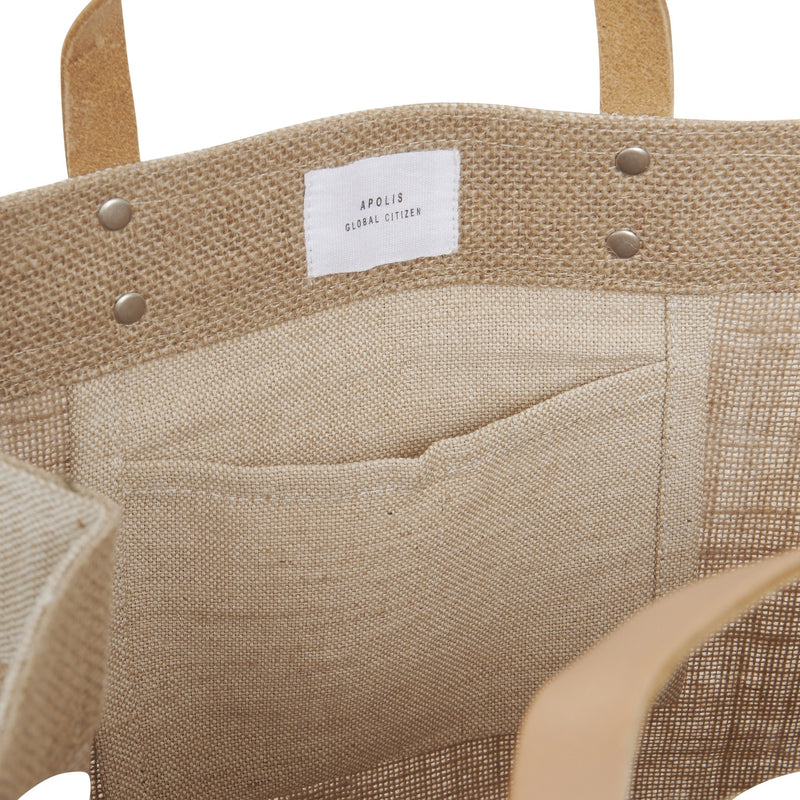 【APOLIS x STUDIO THE BLUE BOY】Market Bag - Puglia, Italy