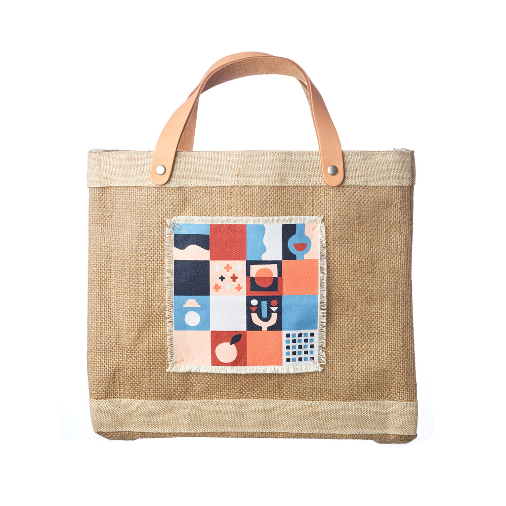 【APOLIS x STUDIO THE BLUE BOY】Petite Market Bag - Marrakech, Morocco