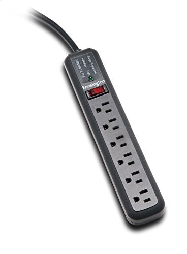 Kensington Guardian 6 Outlet, 15-Foot Cord, 540 Joules Premium Surge Protector (K38215NA)