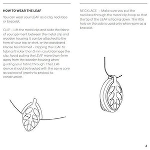 Bellabeat Leaf Nature Smart Jewelry Health Tracker