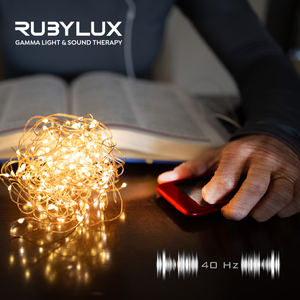 RUBYLUX GAMMA LIGHT & SOUND THERAPY SET