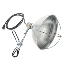 RubyLux Lamp with Heavy Duty Clamp for RubyLux NIR Bulb for US & Canada