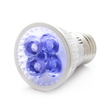 RubyLux All Blue LED Bulb - Size Small - 2nd Generation 120V US & Canada