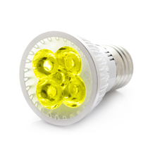 RubyLux Amber Yellow LED Bulb - Size Small - 2nd  220V Europe & Australia