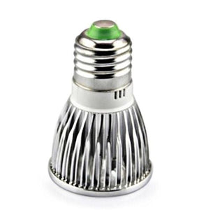 RubyLux All Green LED Bulb - Small - 2nd Generation 220V Europe & Australia