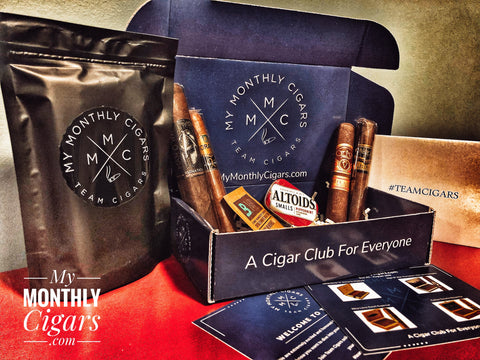 My Monthly Cigars - August Subscription Box