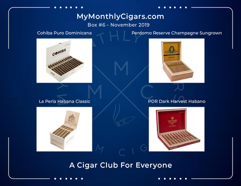 My Monthly Cigars Box #6 - November 2019