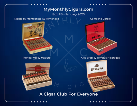 My Monthly Cigars - Box #8 January 2020