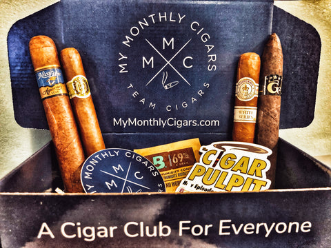 My Monthly Cigars - April 2020
