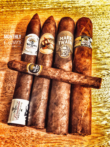 My Monthly Cigars - A Cigar Club For Everyone - October 2020 Box